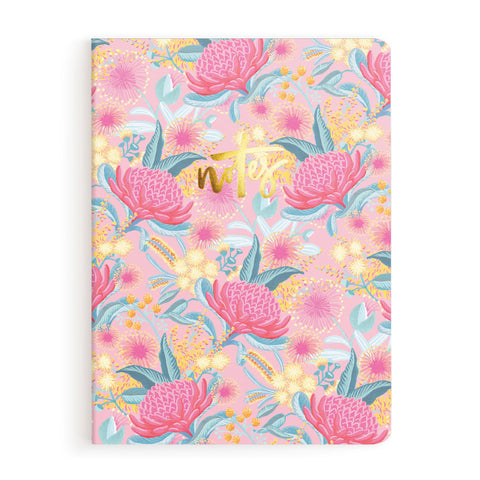 Bottlebrush Notebook - Min. of 3 per style
