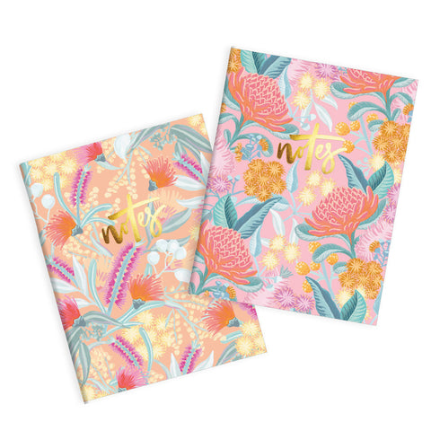 Bottlebrush Pocket Notebook Pack - Min. of 3 per style