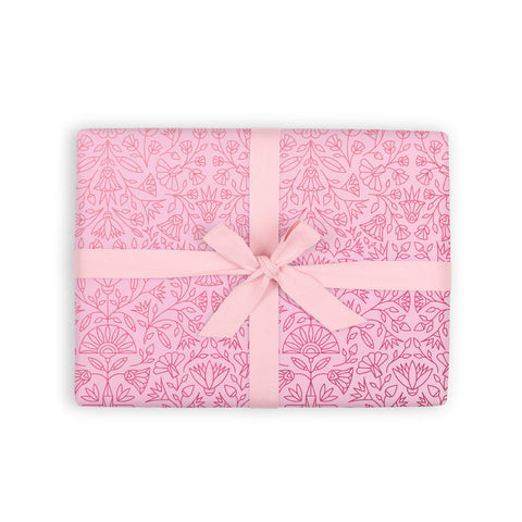 Egyptian Rose Gift Wrap Flat Sheet - Min. 12 sheets