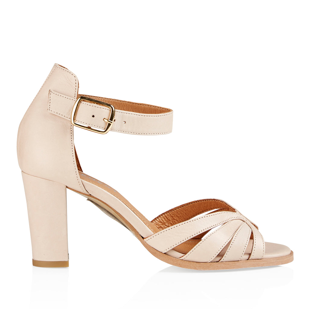 Pavement Gillian Leather Sandals OffWhite 033