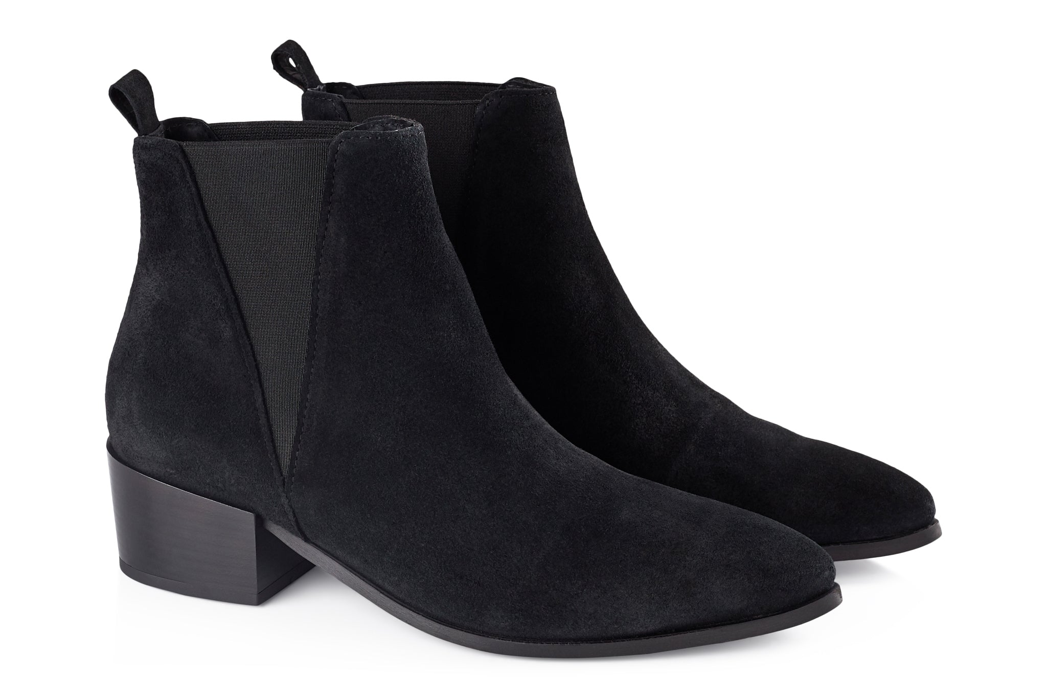 bb34134ddf4 ... Pavement Karen Boots Black suede 017 ...