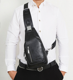 Casual Messenger Bag With USB Port