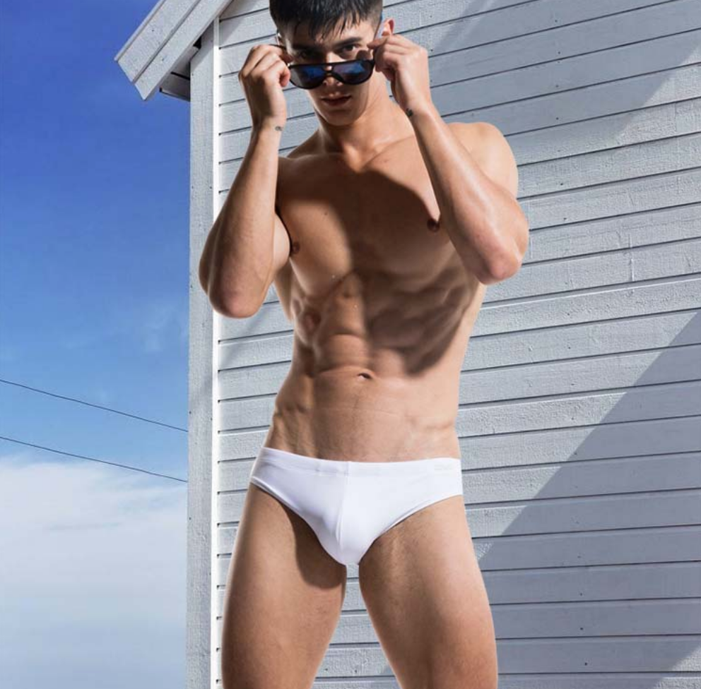 Beach Briefs With Bulge Cup