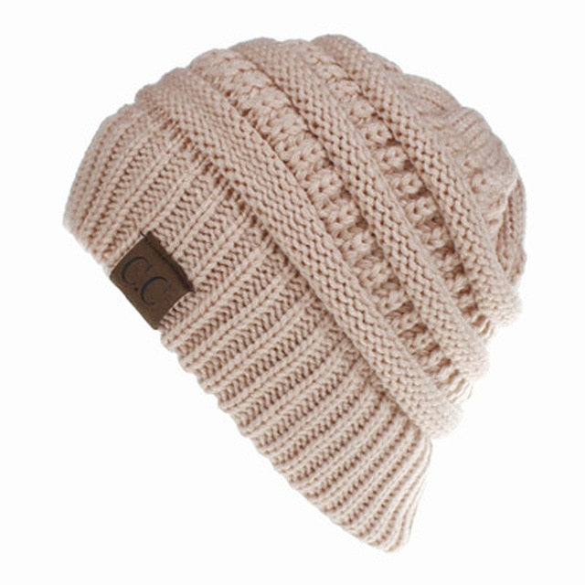 Amazing Warm Ponytail Hat For Adult