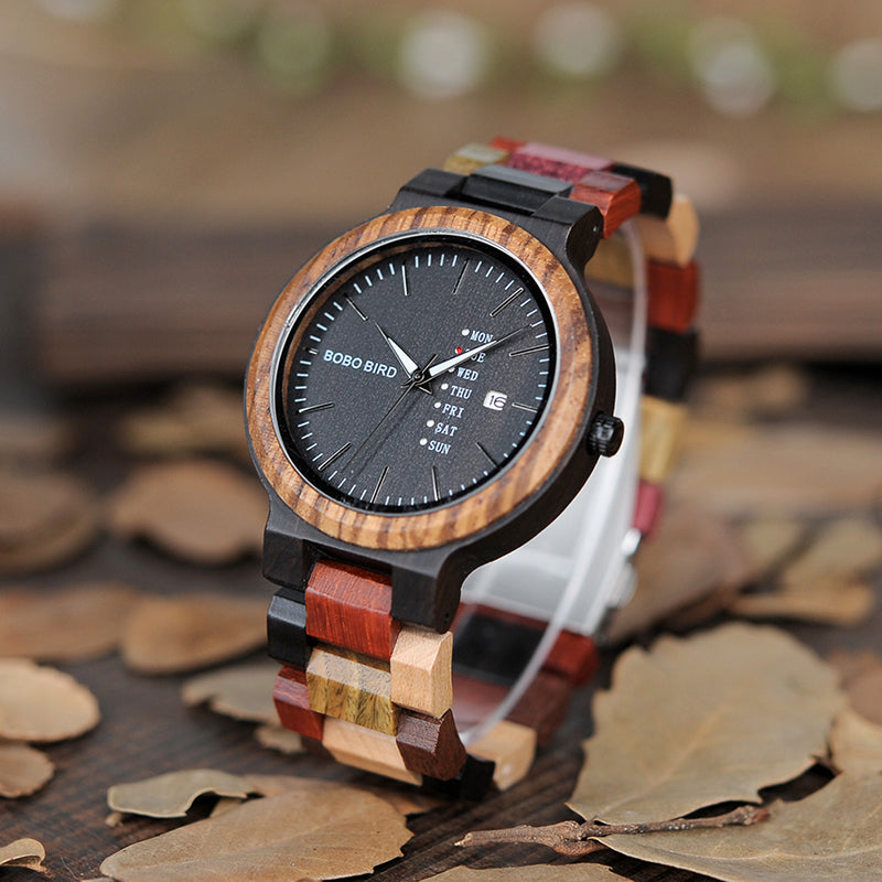 Artistic Wooden Watch