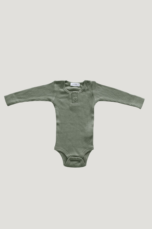 Cotton Bodysuit - Laurel