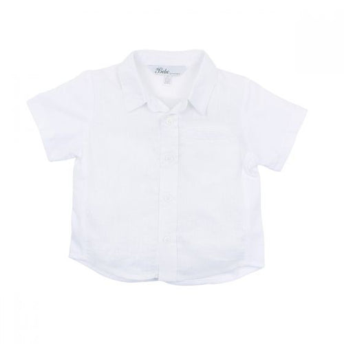 Theo Knit Linen Shirt - Junior