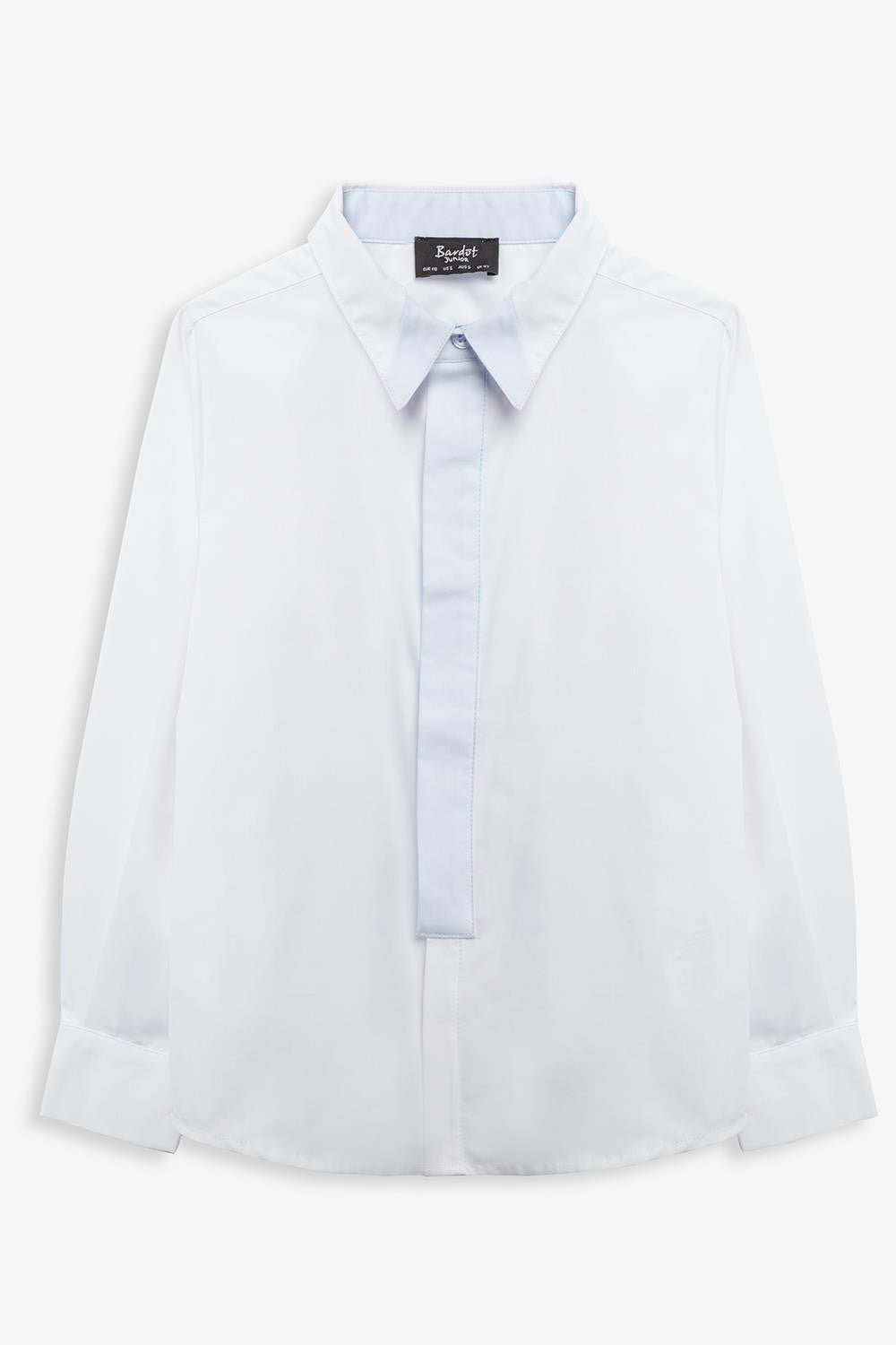 Contrast Placket Shirt 8-12
