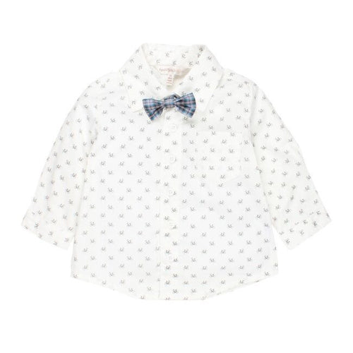 Fox & Finch Baby - Portland Ditsy Shirt with Bowtie
