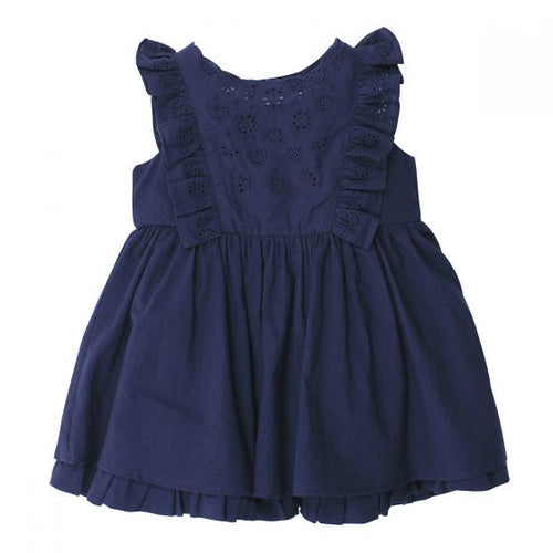 Betty Cutwork Frill Dress