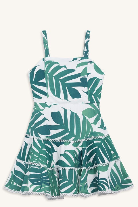 Kiera Palm Dress