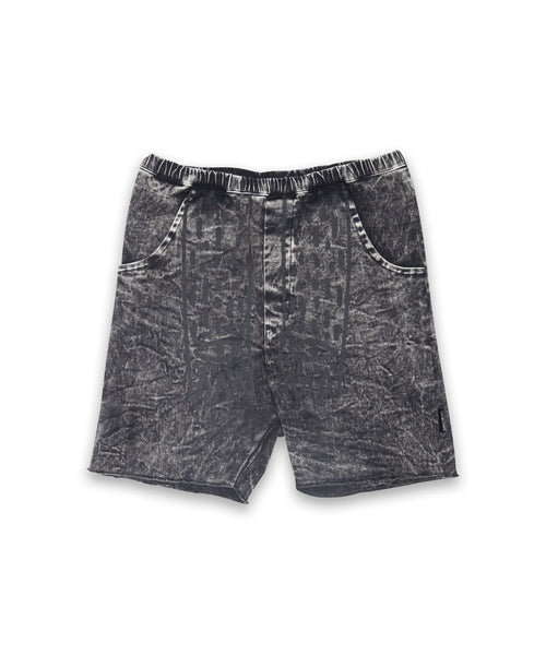 Claws Relaxed Denim Shorts