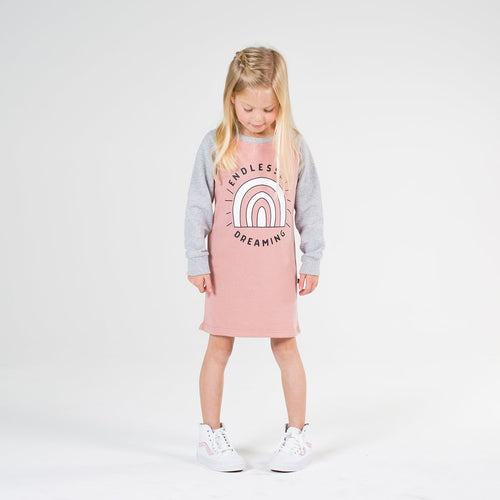 ENDLESSLY DREAMING RAGLAN DRESS