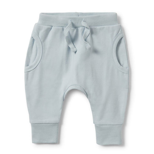 Pocket Slouch Pant - Powder Blue