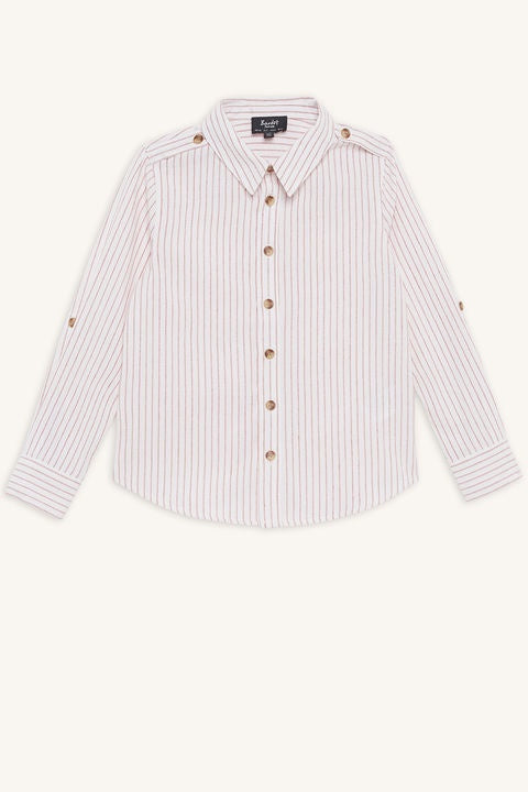 Linen Stripe Shirt