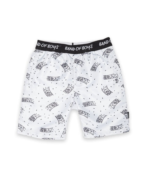 Boardies Claws Grey