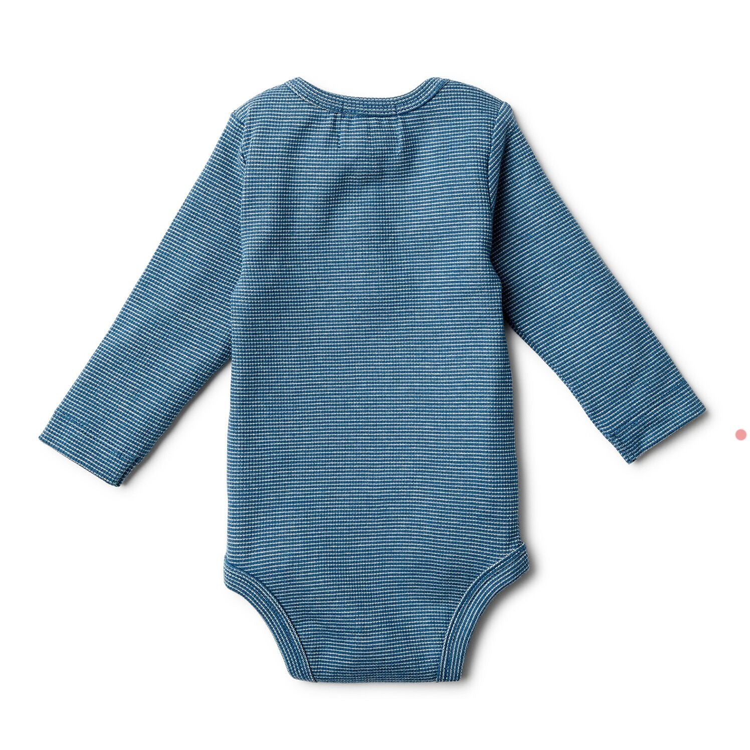 Ink Blue LS Bodysuit