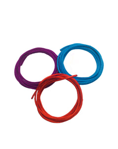 Braided nylon Weave™ Red-Blue-Purple Pack