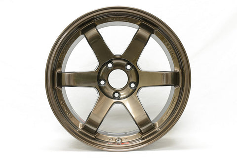 Volk Racing TE37SL 19x10.5 5x114.3 12mm Hi-Meta Bronze