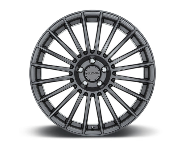 Rotiform BUC Anthracite Cast Monoblock Wheel 19x8.5 5x114.3 35mm