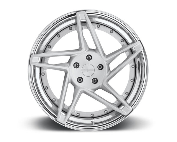 Rotiform CHD 3-Piece Forged Flat/Convex Center Wheels