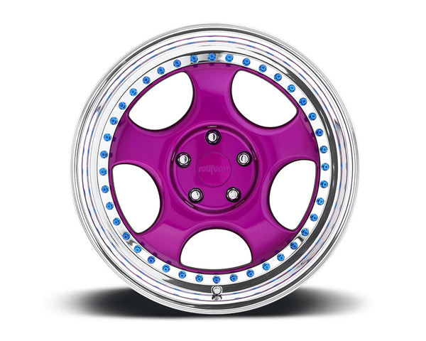 Rotiform CUP 3-Piece Forged Concave Center Wheels