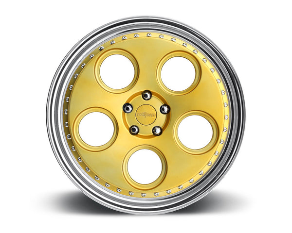 Rotiform DIA 3-Piece Forged Flat/Convex Center Wheels