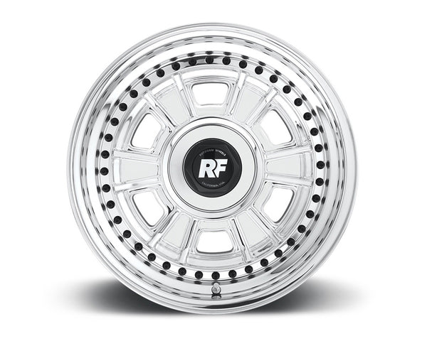 Rotiform DNO 3-Piece Forged Flat/Convex Center Wheels
