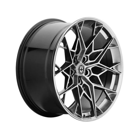 HRE FF10 Flow Form Wheel 20x8.5 5x114 33mm Liquid Metal