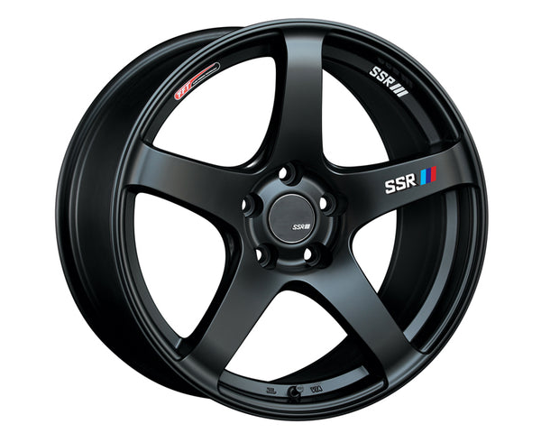 SSR GTV01 Wheel Matte Black 18x9.0 5x114.3 35mm
