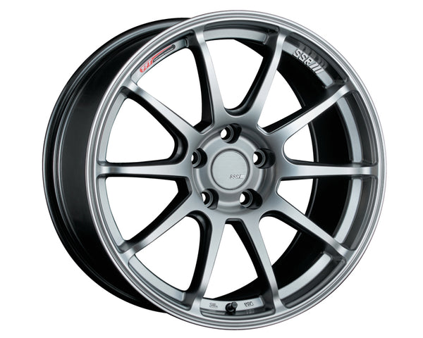 SSR GTV02 Wheel Silver 17x7.0 5x114.3 50mm