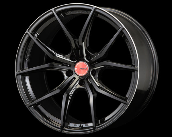 GramLights Black Machining 57FXX Wheel 18x10 5x114.3 40mm