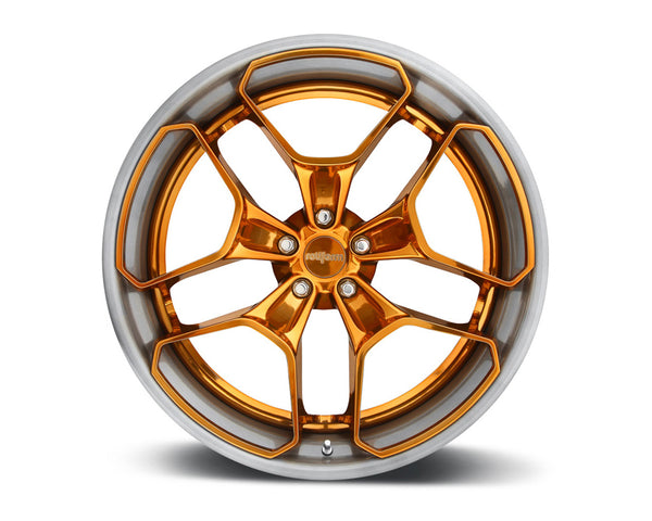 Rotiform HUR 2-Piece Forged Welded Flat Wheels