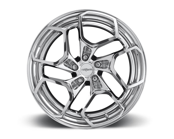 Rotiform HUR-T 3-Piece Forged Deep Concave Center Wheels