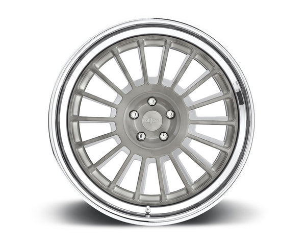 Rotiform IND 2-Piece Forged Welded Flat Wheels