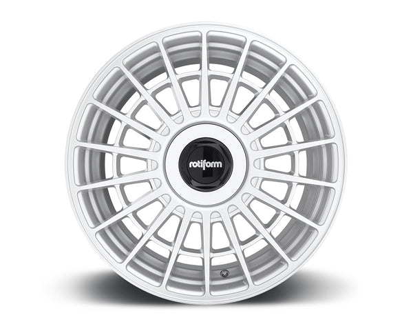 Rotiform LAS-R Gloss Silver Cast Monoblock Wheel 18x9.5 5x108 | 5x114.3 35mm