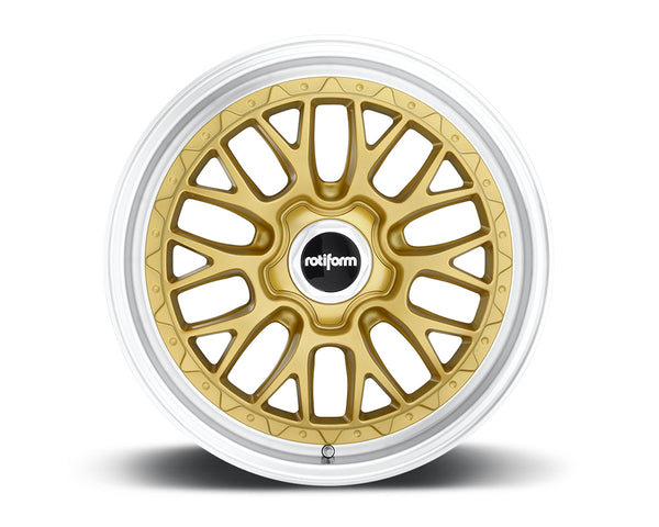 Rotiform LSR Gold & Machined Cast Monoblock Wheel 19x10 5x114.3 40mm