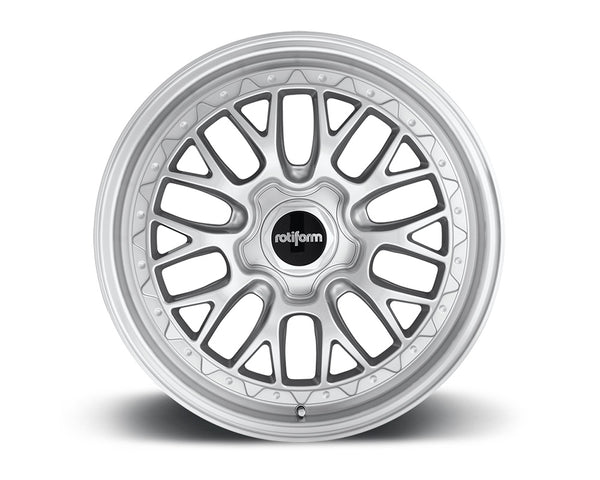 Rotiform LSR Silver & Machined Cast Monoblock Wheel 19x10 5x114.3 40mm
