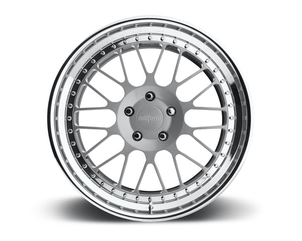 Rotiform LVS 3-Piece Forged Flat/Convex Center Wheels