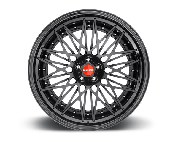 Rotiform QLB 2-Piece Forged Welded Flat Wheels