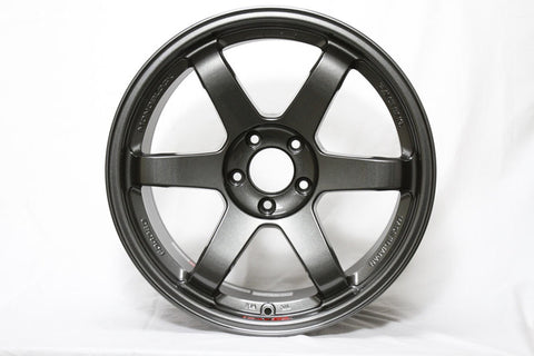 Volk Racing TE37SL 19x9.5 5x114.3 22mm Drak Gunmetal