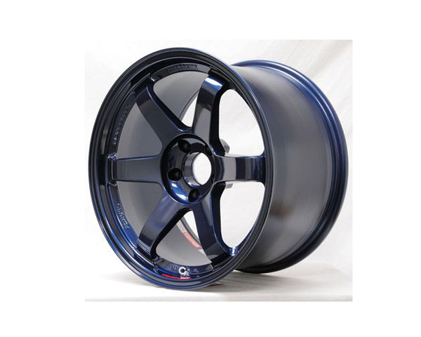 Volk Racing TE37SL 19x10.5 5x114.3 12mm Mag Blue