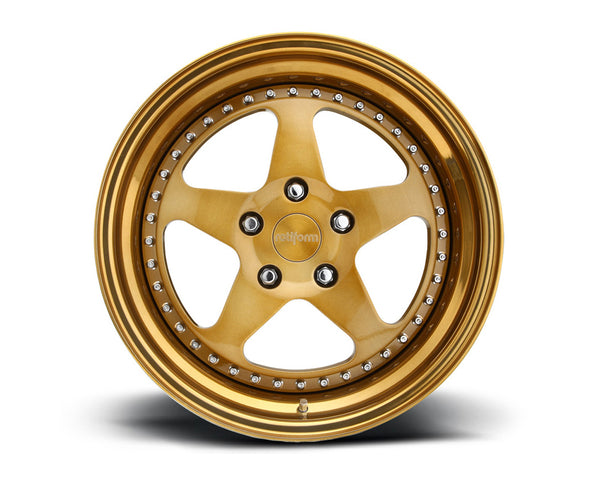 Rotiform ROC 3-Piece Forged Flat/Convex Center Wheels