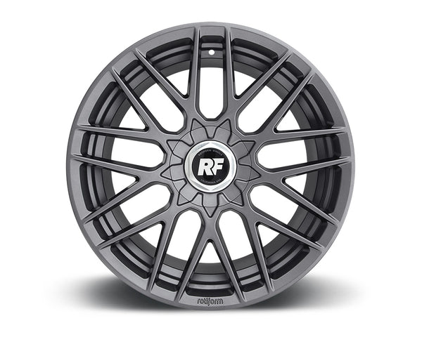Rotiform RSE Matte Anthracite Cast Monoblock Wheel 19x10 5x100 | 5x114.3 25mm