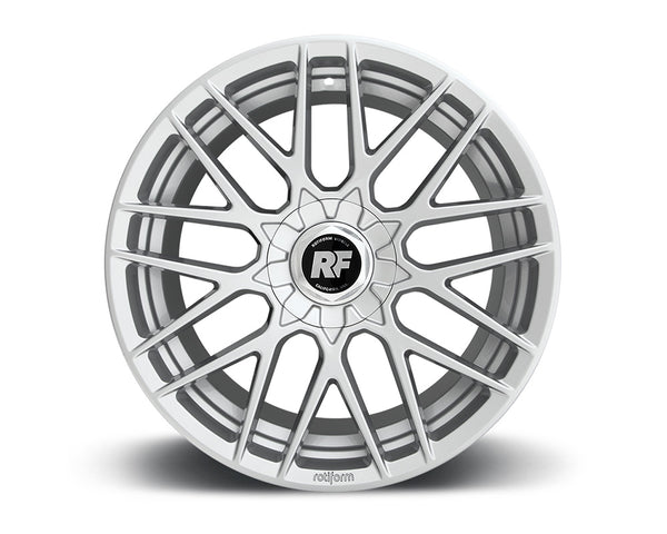 Rotiform RSE Gloss Silver Cast Monoblock Wheel 19x8.5 5x108 | 5x114.3 40mm
