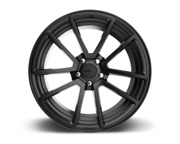 Rotiform SPF Matte Black Cast Monoblock Wheel 18x8.5 5x114.3 38mm