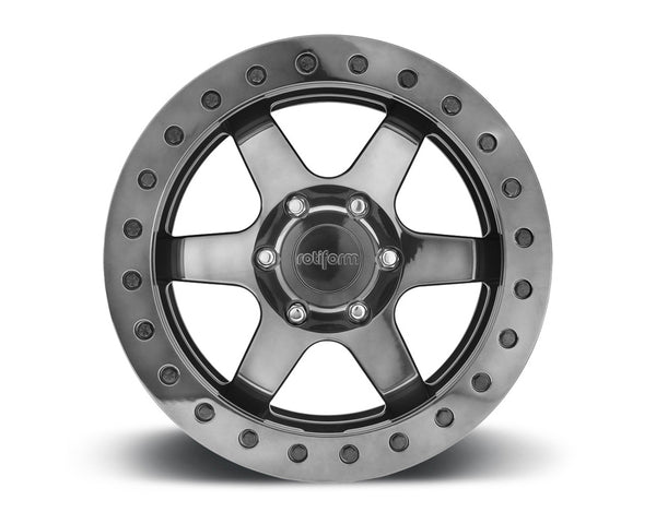 Rotiform SIX-OR 3-Piece Forged Flat/Convex Center Wheels