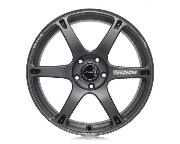 Volk Racing TE037 6061 Wheel 19x10.5 5x114.3 22mm Matte Gunblack
