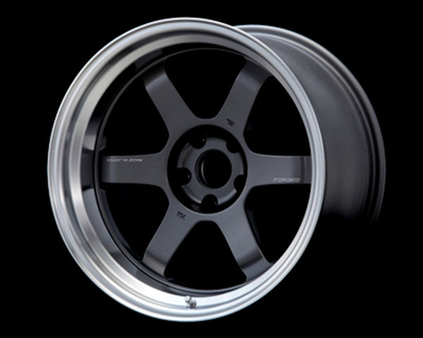 Volk Racing TE37V Mark-II Wheel 18x10.5 5x114.3 0mm Gunmetal/Rim DC