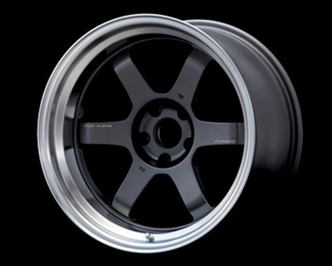 Volk Racing TE37V Mark-II Wheel 18x9 5x114.3 -15mm Gunmetal/Rim DC
